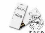 创见4G超薄U盘TS4GJFT3W(白色)