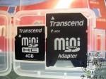 创见(Transcend)4G高速miniSD(HC4)赠适配器